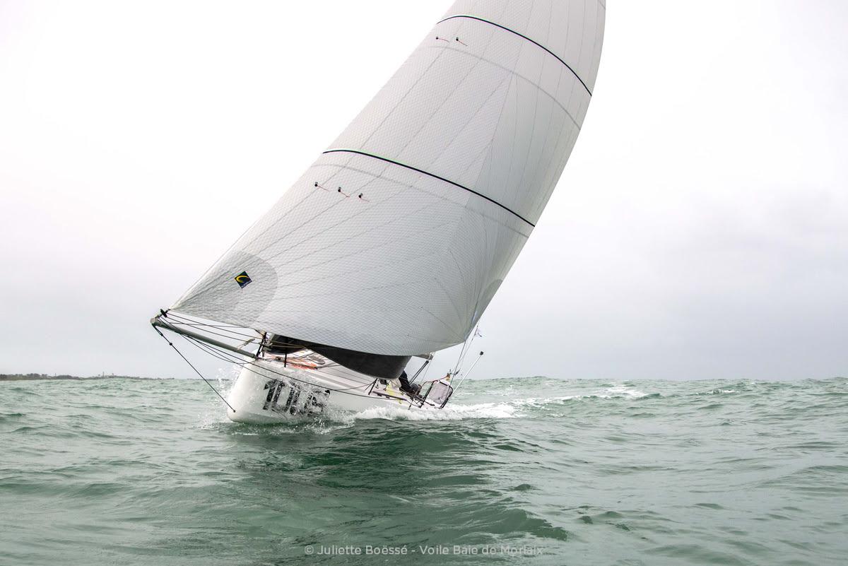 Le collectif d'entraînement de mini 6.50 de Voile Baie de Morlaix